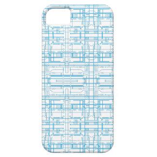Caso del iPhone 5 del modelo del modelo del circui iPhone 5 Fundas