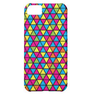 Caso del iPhone 5 del modelo del triángulo de Danc Funda Para iPhone 5C