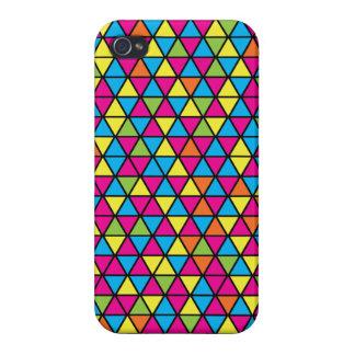 Caso del iPhone 5 del modelo del triángulo de Danc iPhone 4 Carcasas