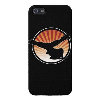 Caso del iPhone 5 del molino de viento de BBOY iPhone 5 Funda