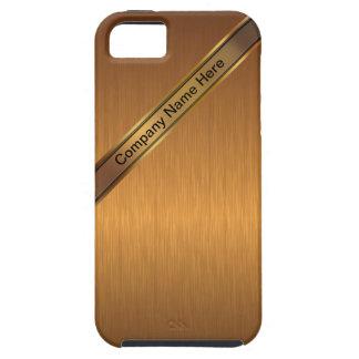 Caso del iPhone 5 del monograma del negocio iPhone 5 Case-Mate Carcasas