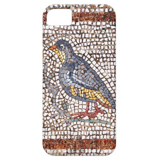 Caso del iPhone 5 del mosaico del pájaro de Kos iPhone 5 Cárcasa