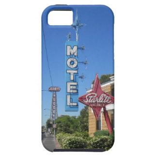 Caso del iphone 5 del motel de Starlite iPhone 5 Case-Mate Protector