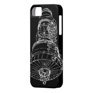 Caso del iphone 5 del motor a reacción iPhone 5 Case-Mate carcasas