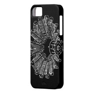 Caso del iphone 5 del motor de pistón iPhone 5 carcasa
