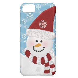 Caso del iPhone 5 del muñeco de nieve Funda Para iPhone 5C