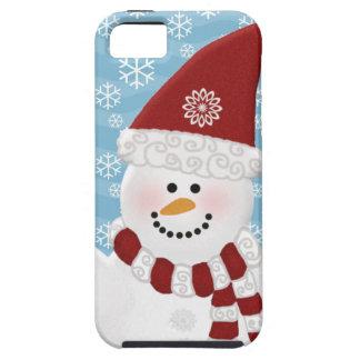 Caso del iPhone 5 del muñeco de nieve Funda Para iPhone SE/5/5s