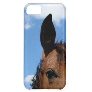 Caso del iPhone 5 del ojo del caballo