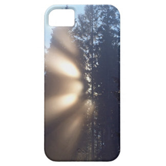 Caso del iPhone 5 del paisaje de la niebla y de la Funda Para iPhone SE/5/5s