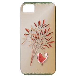 Caso del iPhone 5 del pájaro y de la Bush-luz Funda Para iPhone 5 Barely There