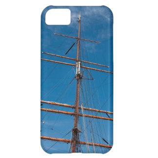 Caso del iPhone 5 del palo de la nave