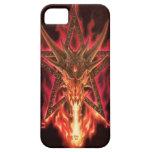 Caso del iPhone 5 del Pentagram del dragón iPhone 5 Cárcasa