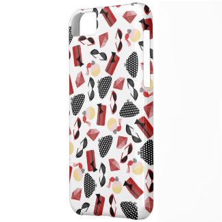 Caso del iPhone 5 del perfume y de los monederos Funda Para iPhone 5C