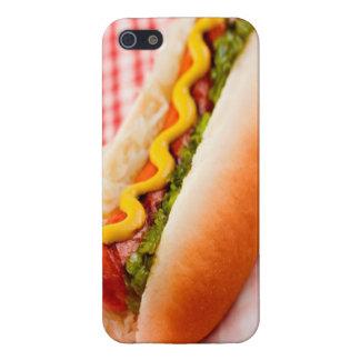 Caso del iPhone 5 del perrito caliente iPhone 5 Cárcasas