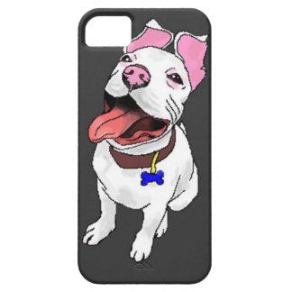 Caso del iPhone 5 del perrito del pitbull iPhone 5 Fundas