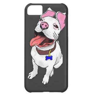 Caso del iPhone 5 del perrito del pitbull
