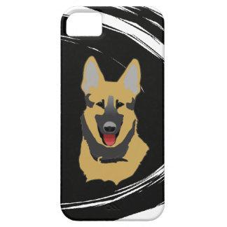 Caso del iPhone 5 del perro de pastor alemán iPhone 5 Protector