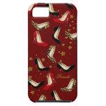 Caso del iPhone 5 del perro del zapato de la moda iPhone 5 Case-Mate Cobertura