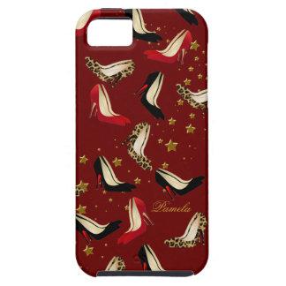Caso del iPhone 5 del perro del zapato de la moda iPhone 5 Funda