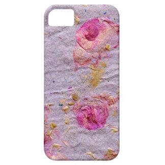 Caso del iPhone 5 del pétalo color de rosa iPhone 5 Funda