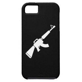Caso del iPhone 5 del pictograma de AK-47 Funda Para iPhone SE/5/5s