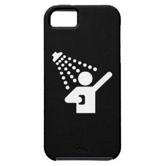 Caso del iPhone 5 del pictograma de la ducha Funda Para iPhone SE/5/5s