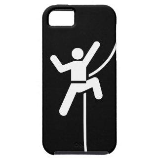 Caso del iPhone 5 del pictograma de la escalada iPhone 5 Protector