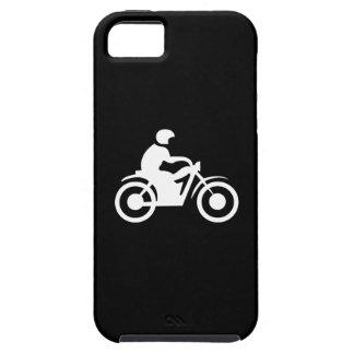 Caso del iPhone 5 del pictograma de la motocicleta Funda Para iPhone SE/5/5s