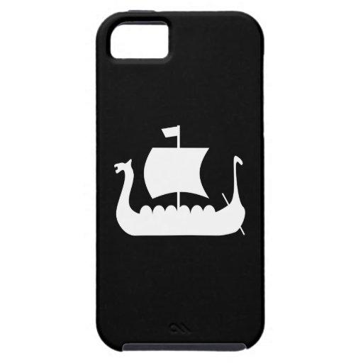 Caso del iPhone 5 del pictograma de la nave de Vik iPhone 5 Protector