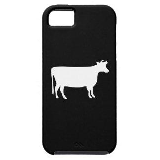 Caso del iPhone 5 del pictograma de la vaca iPhone 5 Funda