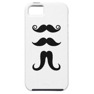 Caso del iPhone 5 del pictograma de los bigotes Funda Para iPhone SE/5/5s