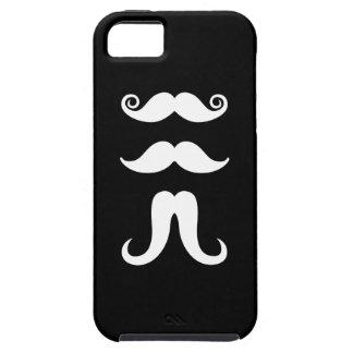 Caso del iPhone 5 del pictograma de los bigotes iPhone 5 Funda