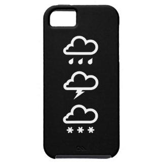 Caso del iPhone 5 del pictograma de los sistemas iPhone 5 Case-Mate Cárcasas