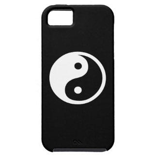 Caso del iPhone 5 del pictograma de Yin Yang Funda Para iPhone SE/5/5s