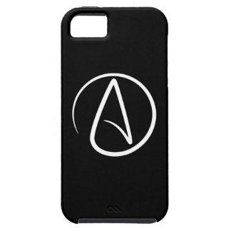 Caso del iPhone 5 del pictograma del ateísmo iPhone 5 Case-Mate Funda