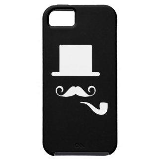 Caso del iPhone 5 del pictograma del bigote y del iPhone 5 Cobertura