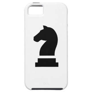 Caso del iPhone 5 del pictograma del caballero Funda Para iPhone 5 Tough