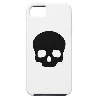 Caso del iPhone 5 del pictograma del cráneo Funda Para iPhone SE/5/5s