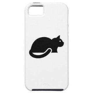 Caso del iPhone 5 del pictograma del gato Funda Para iPhone SE/5/5s