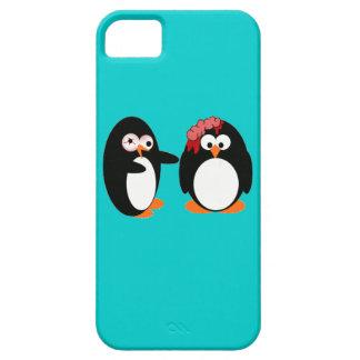 Caso del iPhone 5 del pingüino del zombi iPhone 5 Fundas