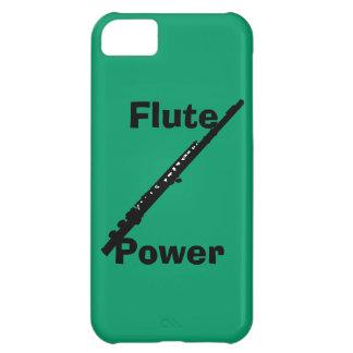 Caso del iPhone 5 del poder de la flauta Funda Para iPhone 5C