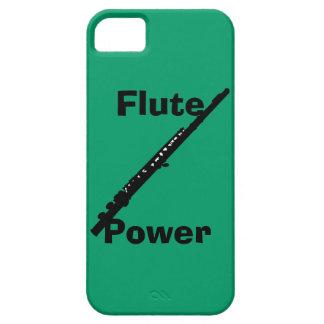 Caso del iPhone 5 del poder de la flauta iPhone 5 Carcasas
