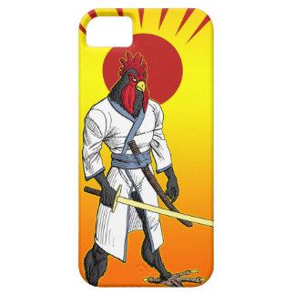 Caso del iPhone 5 del pollo del samurai iPhone 5 Cobertura