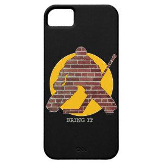 Caso del iPhone 5 del portero de la pared de Funda Para iPhone SE/5/5s
