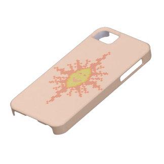 Caso del iPhone 5 del resplandor solar Funda Para iPhone SE/5/5s