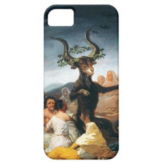 Caso del iPhone 5 del Sabat de las brujas de Goya Funda Para iPhone 5 Barely There