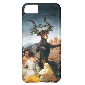 Caso del iPhone 5 del Sabat de las brujas de Goya Funda Para iPhone 5C