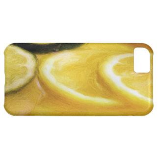 Caso del iphone 5 del sacador de la fruta cítrica funda para iPhone 5C