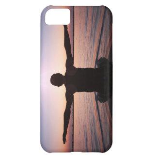 Caso del iPhone 5 del saludo de Sun de la yoga