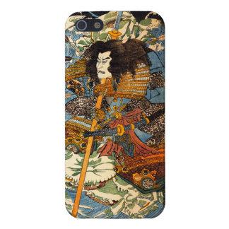 Caso del iPhone 5 del samurai de Kuniyoshi iPhone 5 Protectores